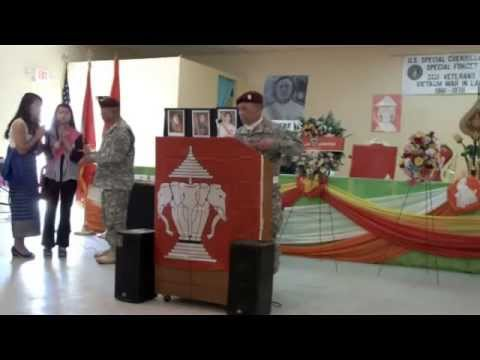 Royal Lao Airborne Memorial Services for our fallen country Laos 11