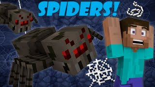 Why Spiders Attack at Night - Minecraft