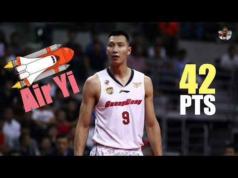 易建联 (Yi Jianlian) Season High 42 Pts Full Highlights vs 辽宁 (06.11.16) 易帝出巡![1080p]