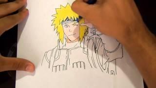 Yondaime Hokage Namikaze Minato - How to Draw