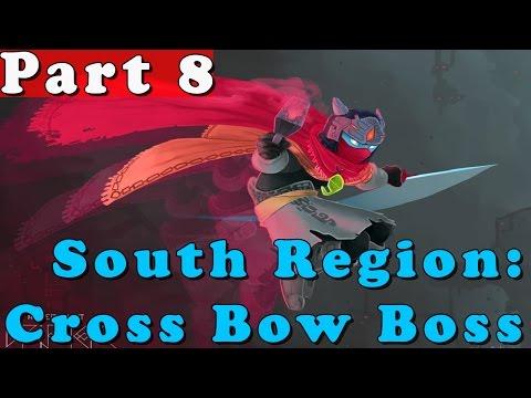#8| Hyper Light Drifter Gameplay Walkthrough Guide | South Boss Cross Bow | PC Full HD No Commentary