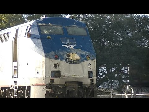 Thumbnail: Amtrak 91, The Silver Star hits a tomato truck in Lakeland ,FL.