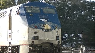 Amtrak 91, The Silver Star hits a tomato truck in Lakeland ,FL.