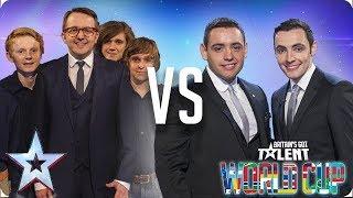 Only Boys Aloud vs Richard & Adam | Britain's Got Talent World Cup 2018
