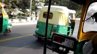 Tuktuk(Auto Rickshaw) race in New Delhi
