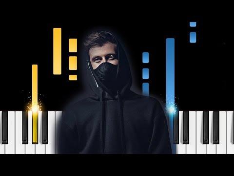 Alan Walker - Lost Control - Piano Tutorial