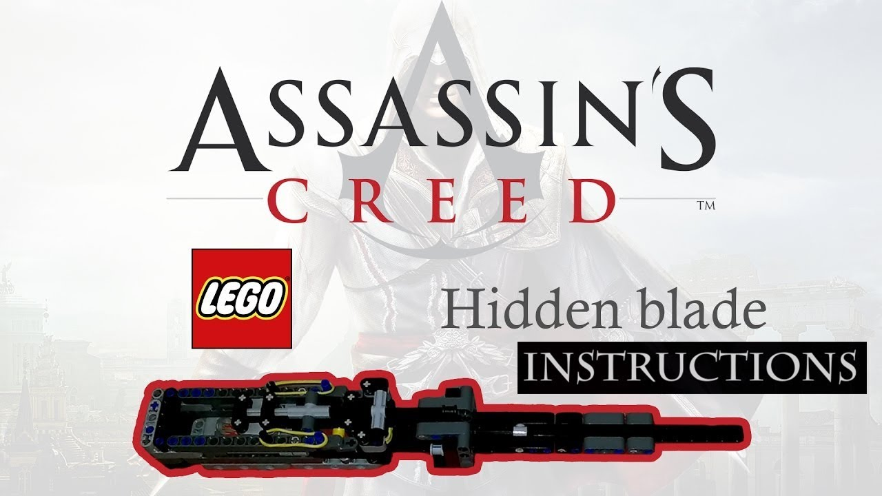 Assassins Creed Instructions Lego Double Action Otf Hidden Blade