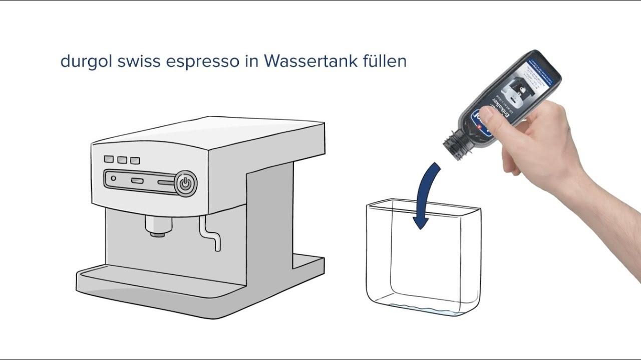 Tutorial Descale Your Coffee Machine To A Professional Standard Espresso Diagram With Durgol Swiss