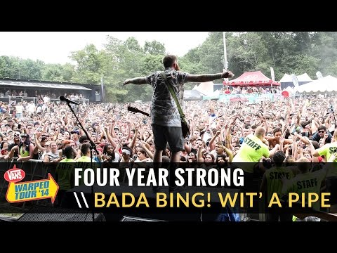Four Year Strong - Bada Bing! Wit' a Pipe (Live 2014 Vans Warped Tour)