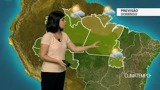 Previsão Norte – AM, AC e RO com chuva frequente