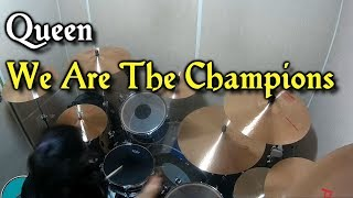 Queen - We Are The Champions - Drum Cover (By Boogie Drum)