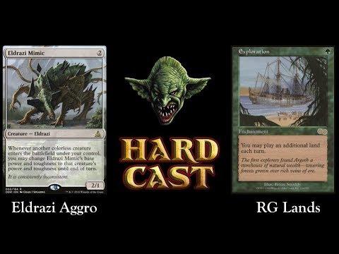 Legacy: Eldrazi Aggro Vs RG Lands (Live)