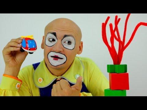 видео смешной клоун -