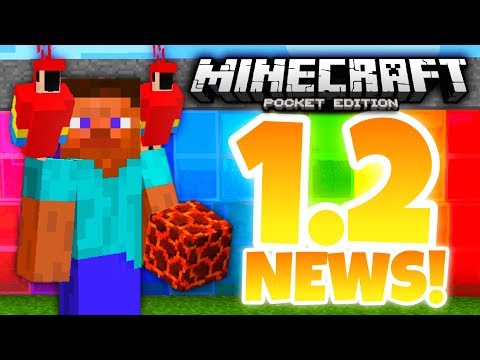 ✔️Minecraft PE 1.2 - UPDATE NEWS PT.1 | Armor stands, stained glass, parrots, & MORE [MCPE 1.2]