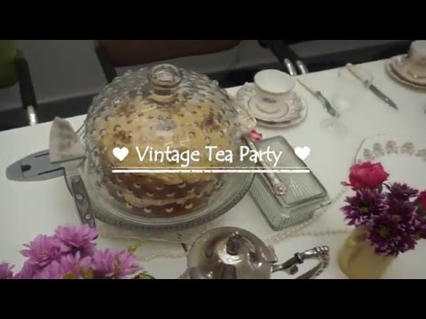Ladies Do Business Vintage Tea Party