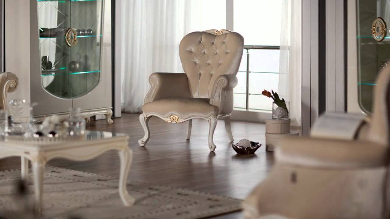 Queen Luxury Living Room Set By Istikbal Furniture Youtube
