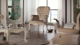 Queen Luxury Living Room Set by Istikbal Furniture