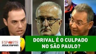 Dorival é o CULPADO no São Paulo? DEBATE FERVE!