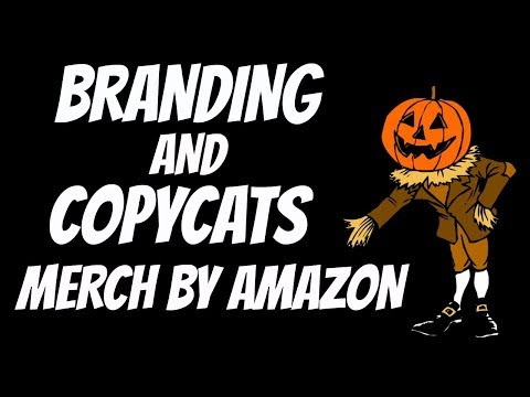 Branding & Copycats with Merch by Amazon Shirts