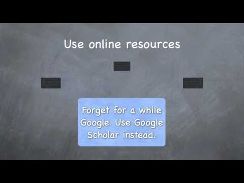Extended Essay - Research Skills Basic Guidelines [Platons School Library]