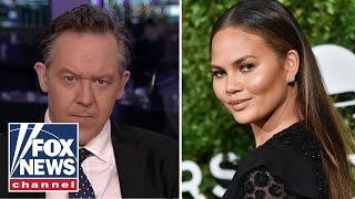 Greg Gutfeld calls out Chrissy Teigen amid protests