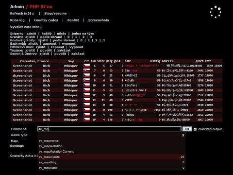 Rcon para servidor Dedicado Rust