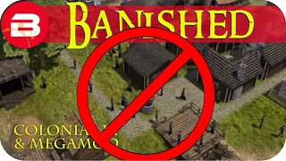 banished gameplay no more nomads 14 colonial charter 1 7 megamod banished mods