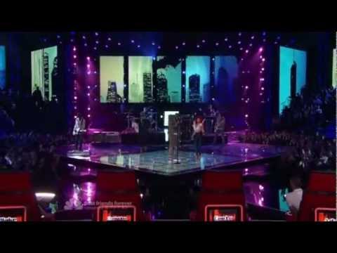 Gym Class Heroes & Neon Hitch - Ass Back Home - The Voice USA   Eliminations 1
