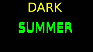 DJ BYK-dark summer (house/techno)