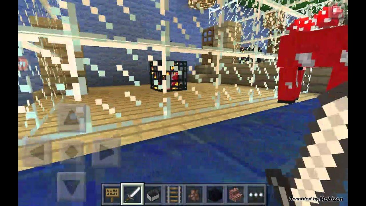 Minecraft Pe Map Disneyland Cool YouTube - Disneyland map fur minecraft pe