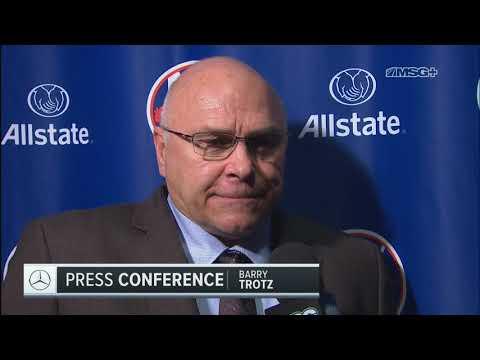 Barry Trotz Discusses Islanders' Six-Goal Effort Against Penguins