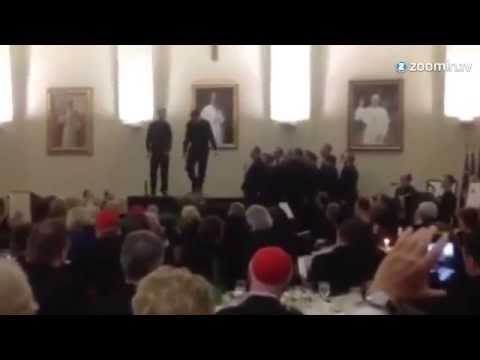 Two Catholic Priests Have A Dance-Off, And It