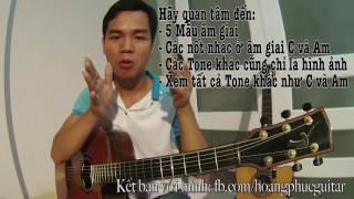 [Guitar]Đơn giản hóa các TONE, Cách sử dụng CAPO để dịch TONE