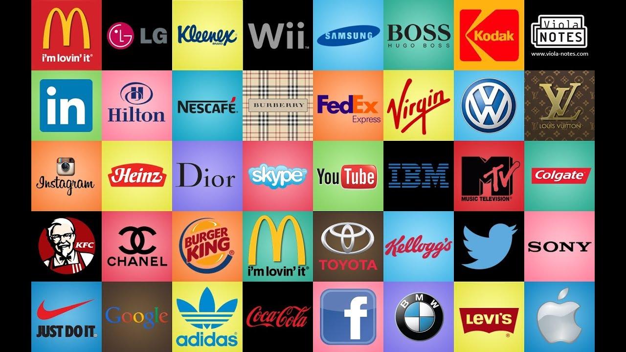 Logos of Multinational Companies  |National Brand Logos