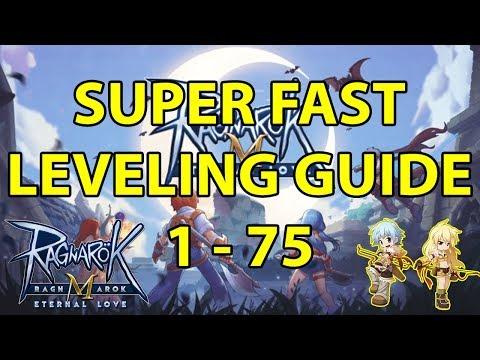 SUPER FAST LEVELING GUIDE (1 - 75)   RAGNAROK M ETERNAL LOVE INDONESIA