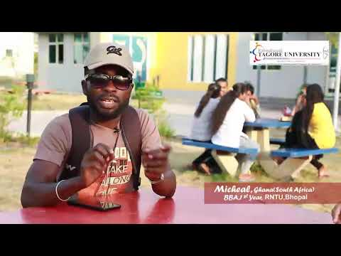Life of an International Student from Ghana at RNTU Bhopal