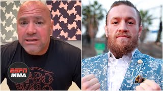 Dana White on Conor McGregor's request for 2020 fight and Khabib vs. Justin Gaethje | ESPN MMA