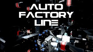 Space Engineers: Auto Factory Line