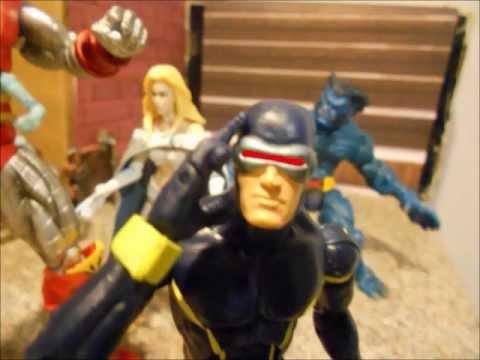 Xmen Vs Magneto Stop Motion Fight