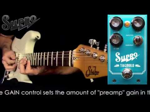 Supro 1310 Harmonic Tremolo Pedal Official Demo by Mike Hermans
