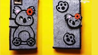DIY Phone Cover, Koala Phone Case, Flip Phone Cover, DIY Phone Case