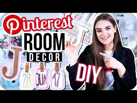 3 DIY ROOM DECOR IDEEN zum Nachmachen -Teil 2 // Pinterest Inspired & Verlosung // I
