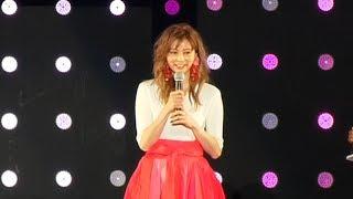 香里奈がTGC国連ステージにスペシャルゲストで登場!<東京ガールズコレクション2018 S/S> 香里奈 動画 11
