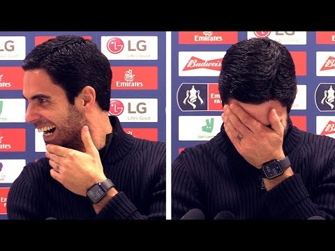 Arsenal 1-0 Leeds - Mikel Arteta FULL Post Match Press Conference - Interrupted By Everton Ringtone!