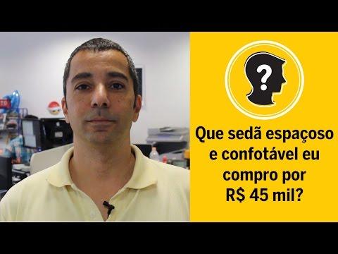 Vídeo: Que sedã espaçoso e confortável eu compro por até R$ 45 mil?