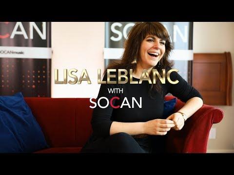 Lisa Leblanc with SOCAN