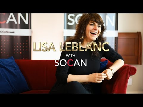 Lisa Leblanc with SOCAN