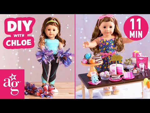 Super Cute DIY Crafts To Do #AtHome | Doll DIY | American Girl