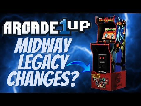 Arcade1Up Midway Legacy Cabinet Changes! Better or Worse?! from PDubs Arcade Loft