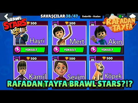 Rafadan Tayfa Brawl Stars?!?